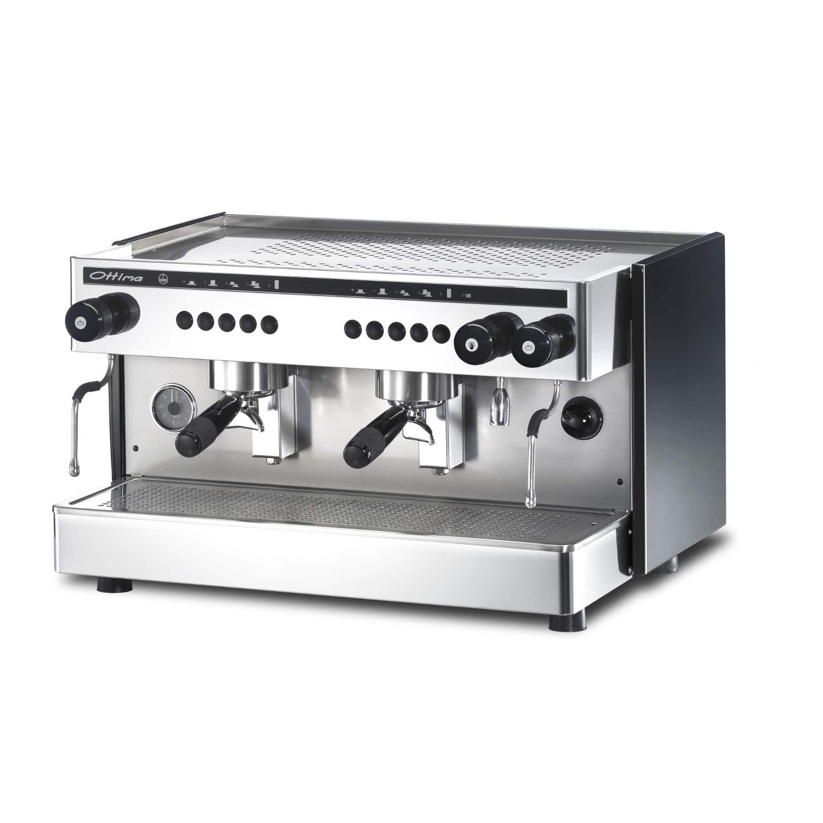 Ottima Electronic 2 Espresso Kahve Makinesi, Manuel, 2 Gruplu