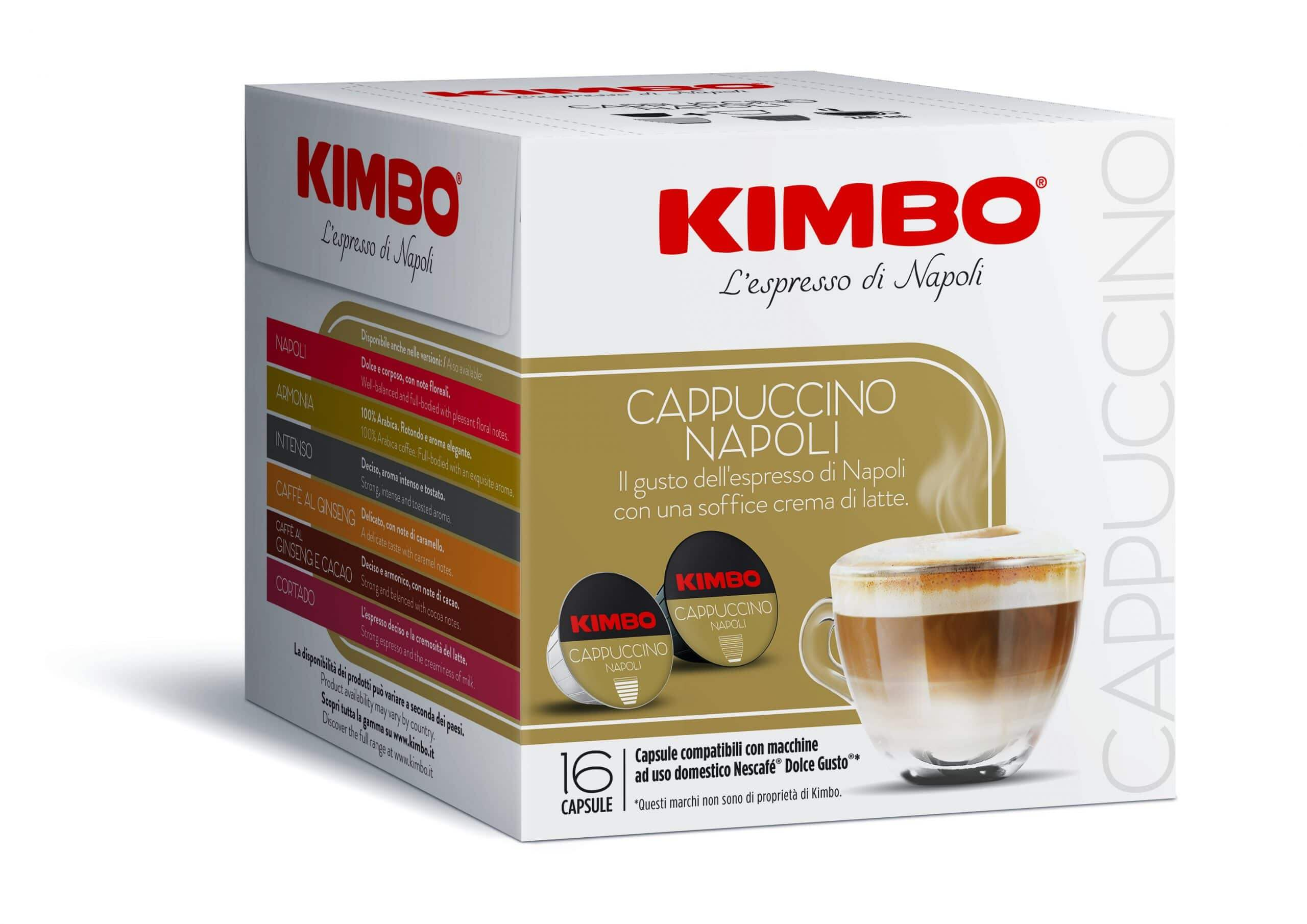 KIMBO Dolce gusto CAPPUCCINO 16pz